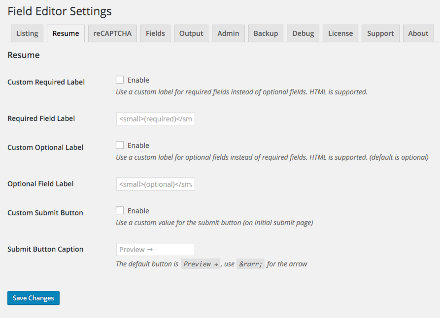 wp manager field editor smyles plugins