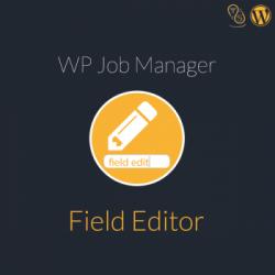 WP Job Manager Field Editor WordPress Plugin