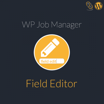 WP Job Manager Field Editor WordPress Plugin