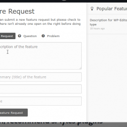 Feature Request Form
