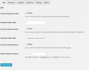 Field Editor Custom Required Label