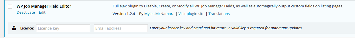 Unable to activate API/License Key | sMyles Plugins