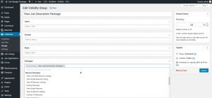 Integration when combined with WP Job Manager Packages
