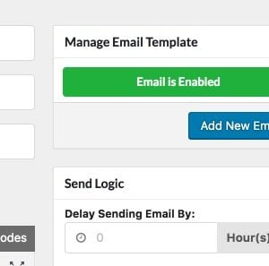 Delay sending emails