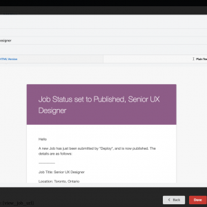 WP Job Manager Emails Generate Preview Email