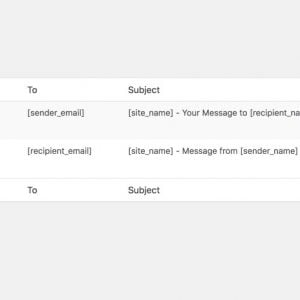 WP Private Messages Email Customization