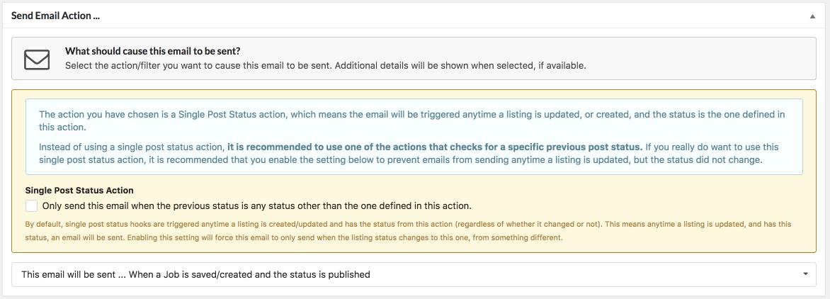 Wp Job Manager Emails Smyles Plugins