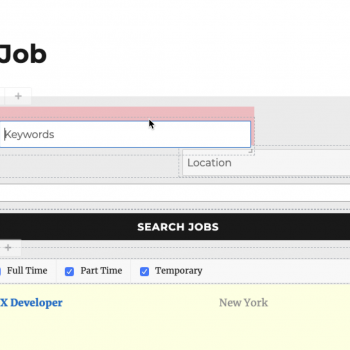 WP Job Manager Search and Filtering